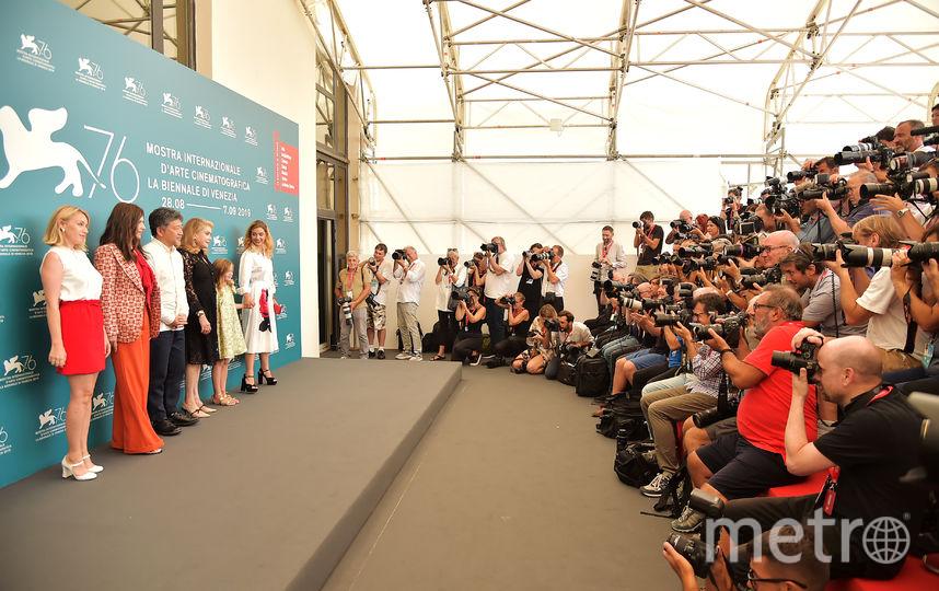 На премьере фильма в Венеции. Фото Getty