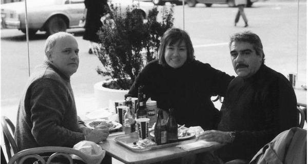 США, Азадовский с супругой и Довлатов.