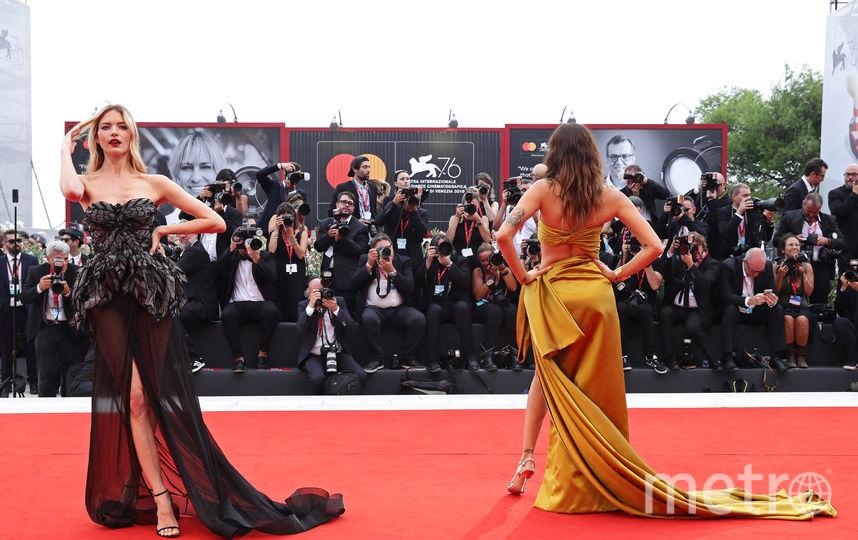 Марта Хант и Изабели Фонтана. Фото Getty