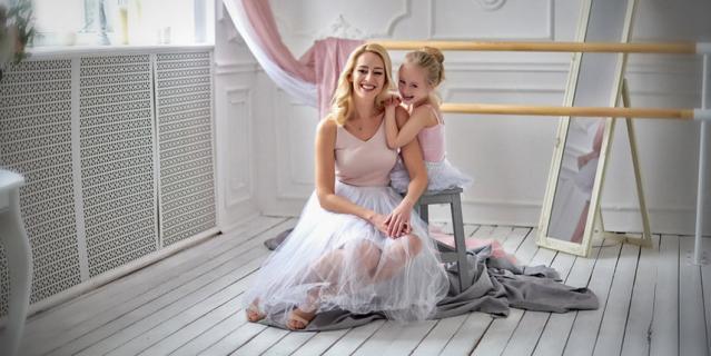 Вероника и её мама Наталья.