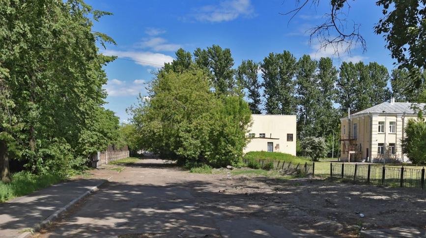 Оборонная улица. Фото Яндекс.Панорамы