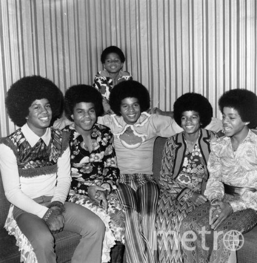Майкл Джексон и Jackson Five. 1972 год. Фото Getty