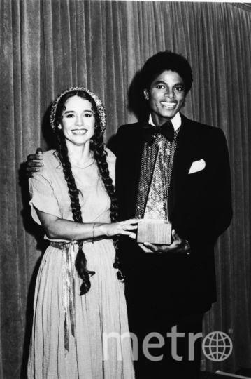 Певица Николетт Ларсен и Майкл Джексон. 1980 год. Фото Getty