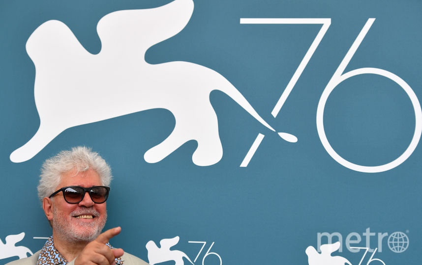 Педро Альмодовар на фотоколле. Фото AFP