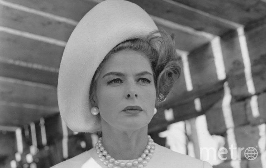 Ингрид Бергман в 1963 году. Фото Getty
