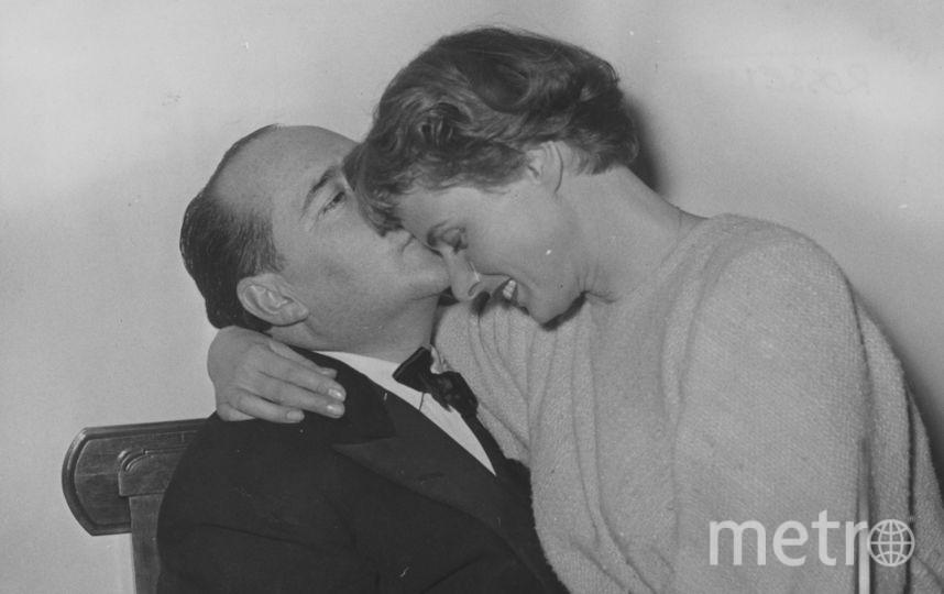 С Роберто Росселини в 1953 году. Фото Getty