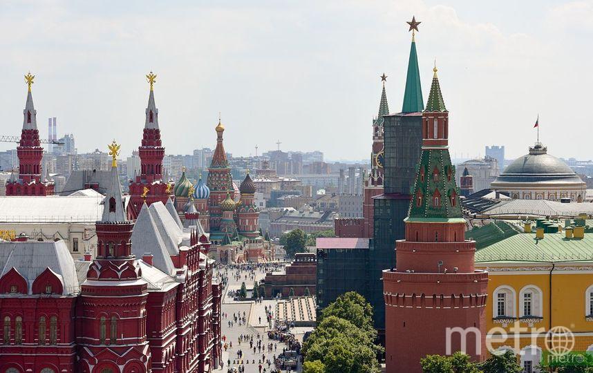 В следующие выходные, 7 и 8 сентября, Москва отметит свой 872-й день рождения. Фото Василий Кузьмичёнок