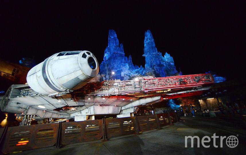 Ожидается, что тематическая зона под названием Планета Батуу станет новой достопримечательностью парка. Фото AFP