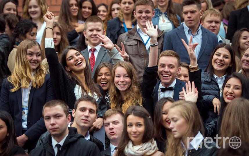 """Для студентов СПбГУП образование – это радость. Фото СПбГУП, """"Metro"""""""