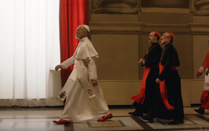 """HBO поделился с аудиторией тизером сериала """"Новый Папа"""". Фото Скриншот, Скриншот Youtube"""