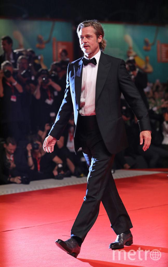 """Брэд Питт на премьере фильма """"К звёздам"""" (Ad Astra). Фото Getty"""