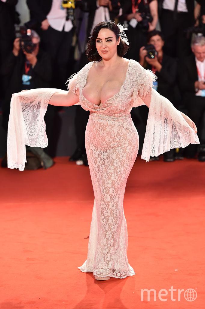 """Франческа Джулиани на премьере фильма """"К звёздам"""" (Ad Astra). Фото Getty"""
