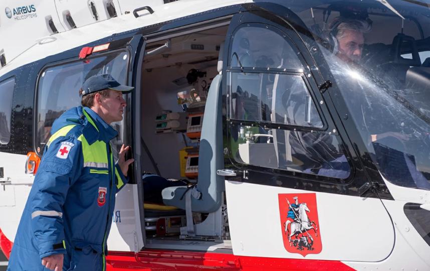 В Москве впервые у детской городской больницы появится своя авиабригада. Фото Пресс-служба Мэра и Правительства Москвы. Денис Гришкин