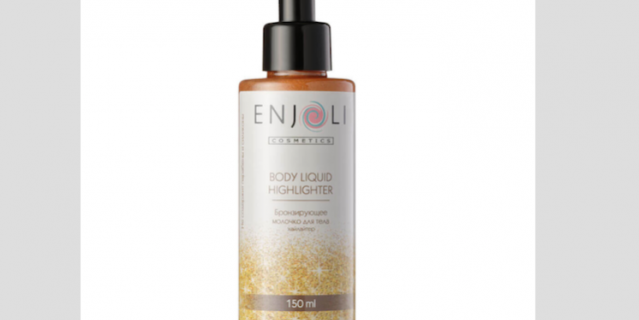Enjoli бронзирующее молочко-хайлайтер для тела.
