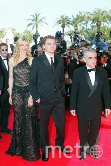 Кэмерон Диаз, Леонардо Ди Каприо и Мартин Скорсезе. Фото Getty