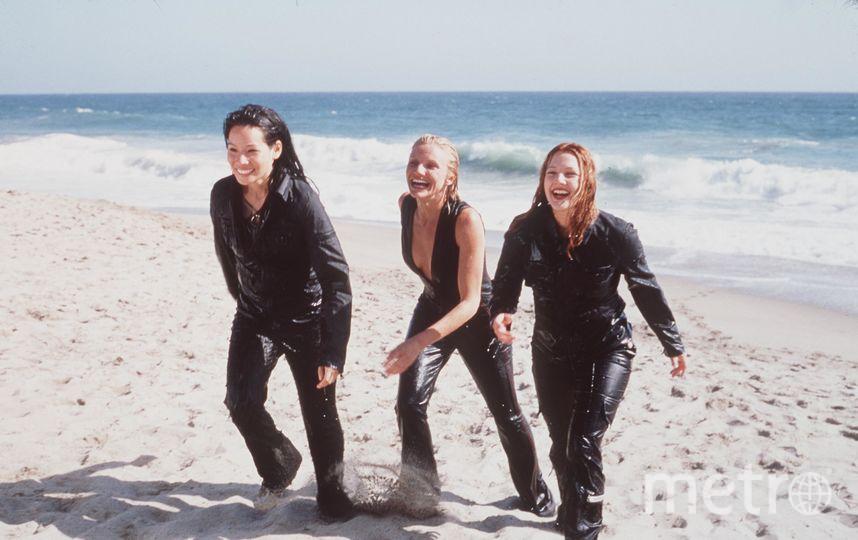 Люси Лью, Дрю Бэрримор и Кэмерон Диаз в молодости. Фото Getty