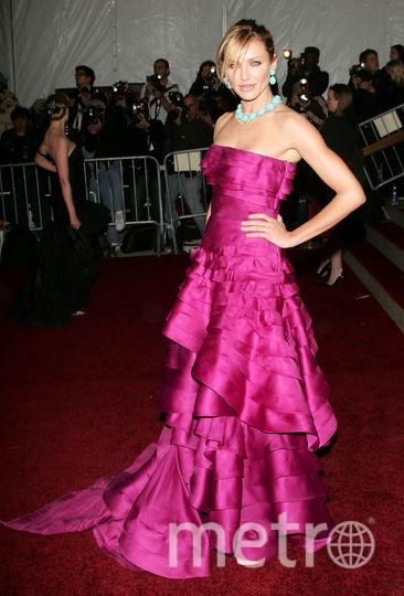 Кэмерон Диаз на Met Gala в 2007 году. Фото Getty
