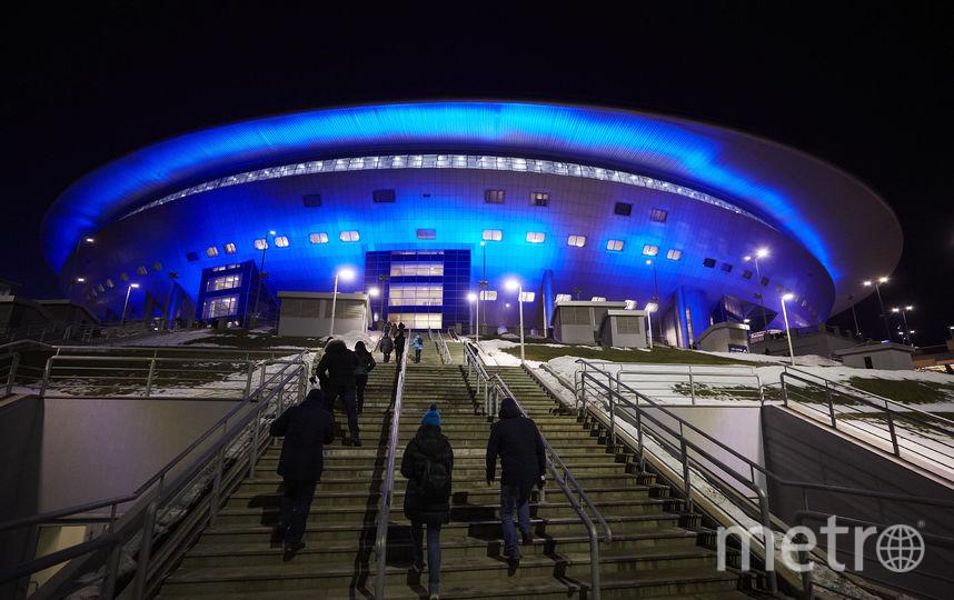 """Стадион """"Зенита"""" на Крестовском острове. Фото Getty"""