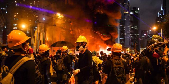 Протесты в Гонконге продолжаются уже 13-ю неделю подряд.