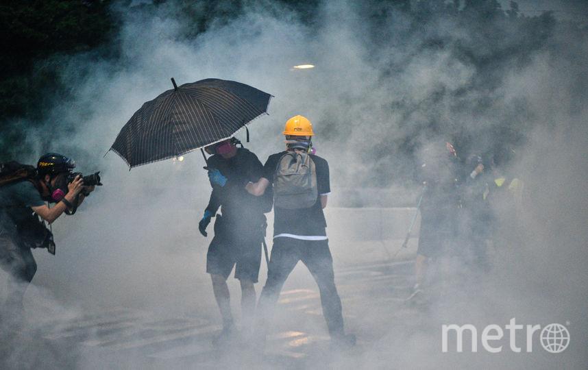 Протесты в Гонконге продолжаются уже 13-ю неделю подряд. Фото AFP