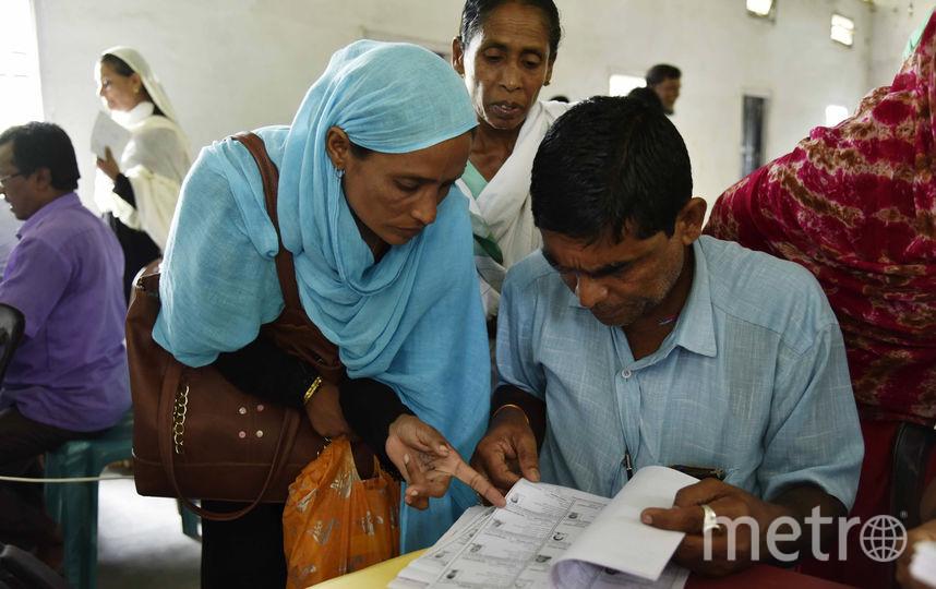 В индийском штате Ассам почти 2 млн человек вычеркнули из списка граждан. Фото AFP