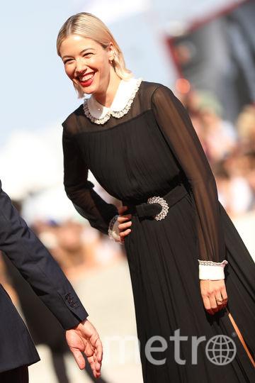 """Итальянская актриса Сара Фельбербаум на премьере """"Нового Папы"""". Фото Getty"""