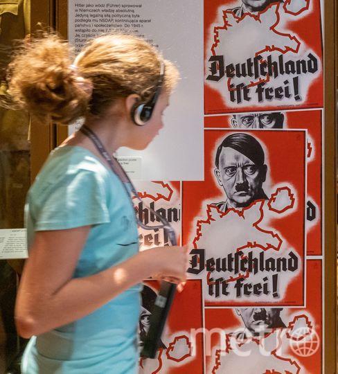 """Нацистскому режиму посвящено несколько залов. Некоторые экспонаты «впечатаны» в пол. Фото Алёна Бобрович, """"Metro"""""""