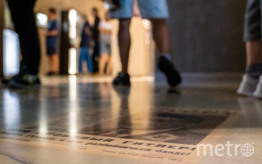 """Инсталляция, посвящённая узникам концлагерей. Фото Алёна Бобрович, """"Metro"""""""