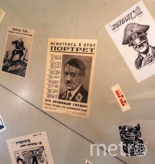 "Зал, посвящённый пропаганде в СССР. Фото Алёна Бобрович, ""Metro"""