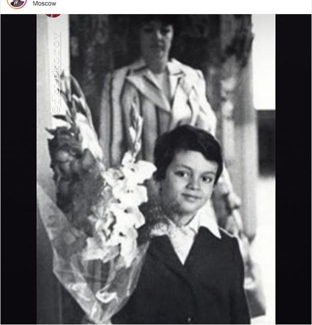 """Филипп Киркоров в семь лет. Фото """"Metro"""""""