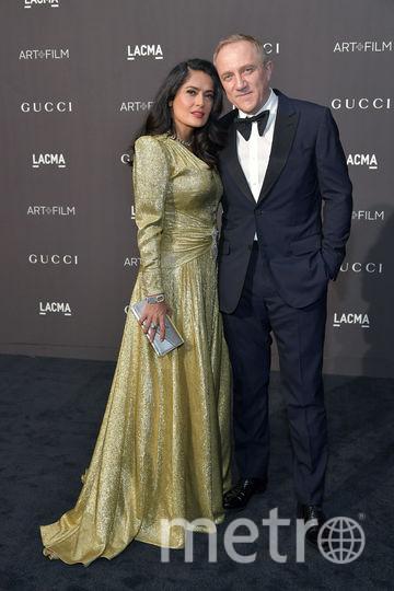 Сальма Хайек и Франсуа-Анри Пино. Фото Getty