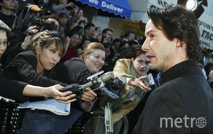 """На премьере фильма """"Матрица: Перезагрузка"""", 2003 год. Фото Getty"""