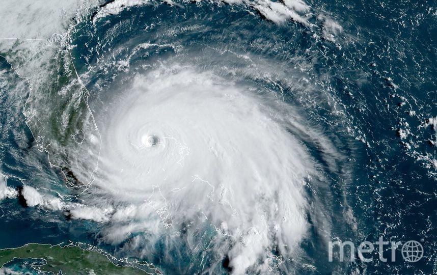 """Ураган """"Дориан"""". Фото AFP"""
