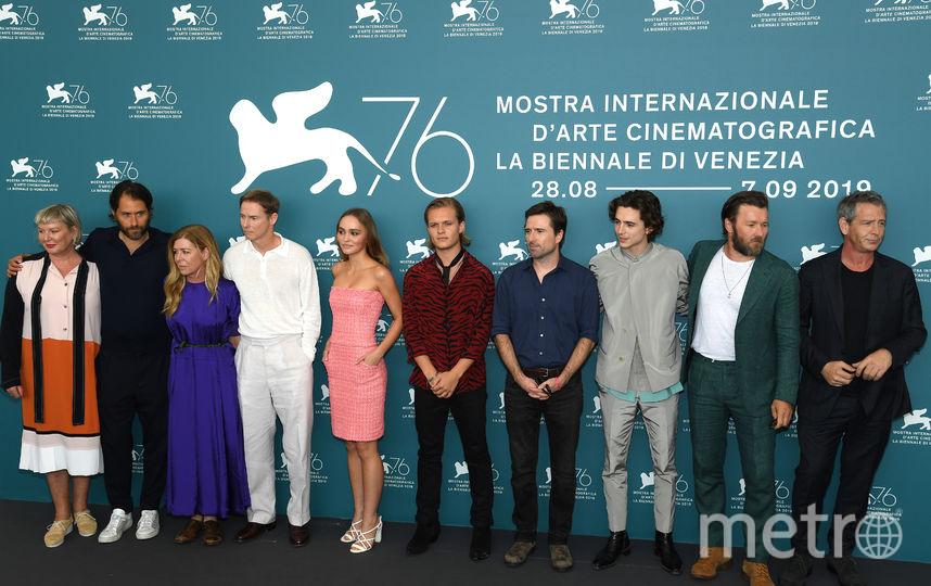 """На премьере фильма """"Король"""" в Венеции. Фото Getty"""