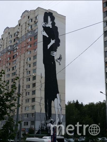 Художник @sanprojectsagency из Бразилии добавил фестивалю романтики. Фото предоставила Елена Валякина