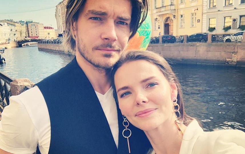 Елизавета Боярская c мужем Максимом Матвеевым. Фото Скриншот Instagram @lizavetabo