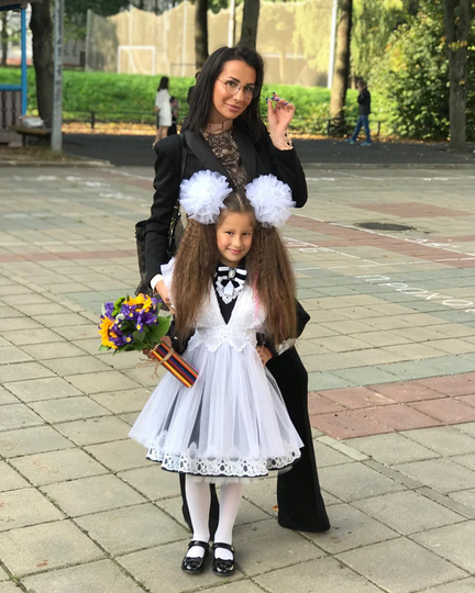 Анна Грачевская с дочерью. Фото Скриншот Instagram @anna_grachevskaya