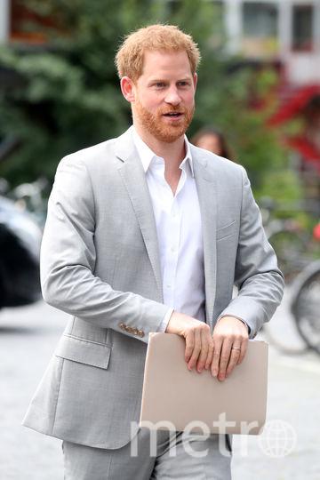 Принц Гарри в Амстердаме. Фото Getty