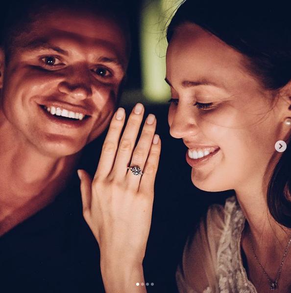 Дмитрий Тарасов и Анастасия Костенко. Фото https://www.instagram.com/kostenko.94/