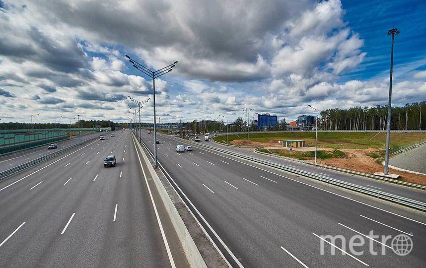 """Новая дорога соответствует категории IА. Фото ГК Автодор https://russianhighways.ru/press/gallery/41/, """"Metro"""""""