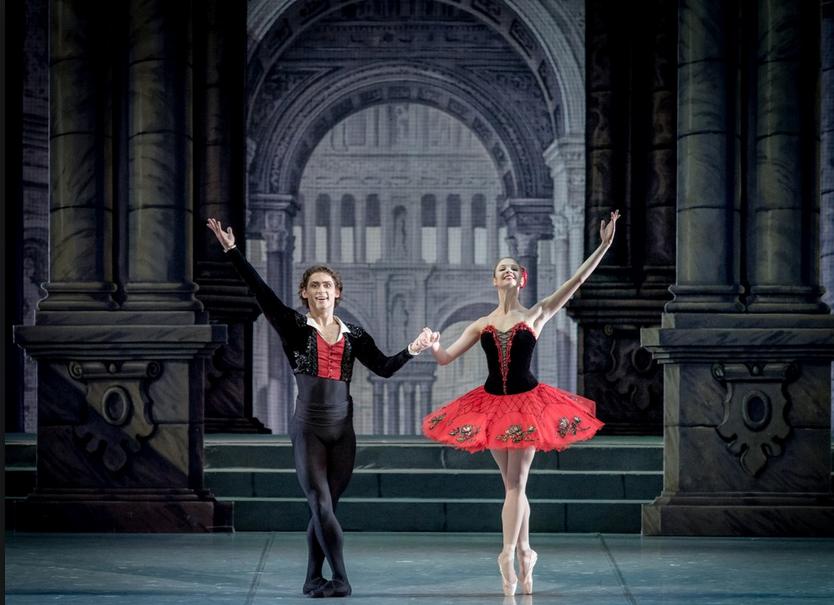 """Фрагмент балета """"Дон Кихот"""". Фото https://mikhailovsky.ru/, """"Metro"""""""