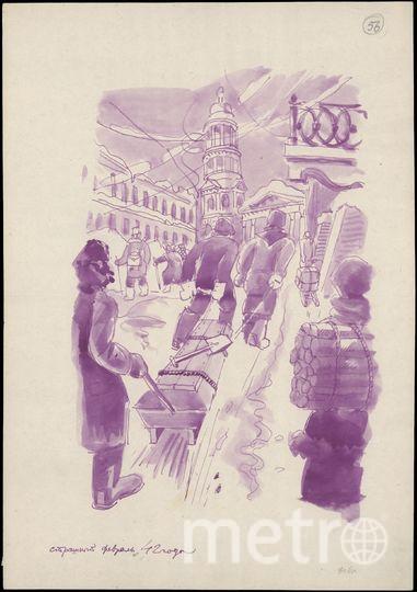 """«Страшный февраль 1942 года». Фото """"Metro"""""""