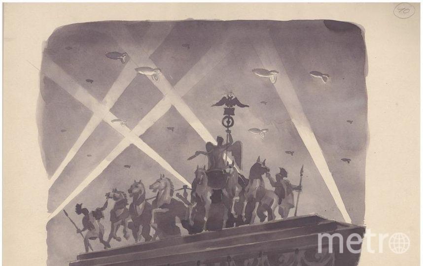 """«Они не пройдут!!!», 1941 год. Фото """"Metro"""""""
