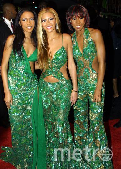 Бейонсе с группой Destiny's Child. 1998. Фото Getty