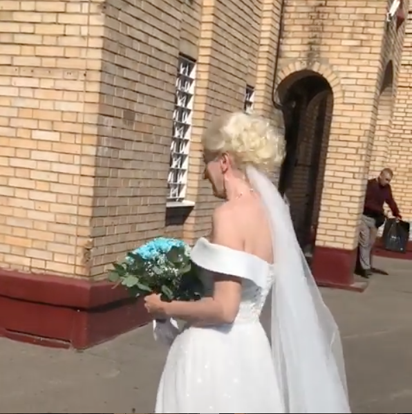 Невеста Елена. Фото скриншот instagram.com/evamerkacheva