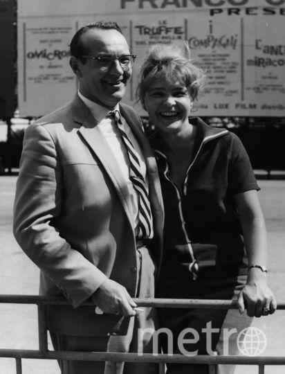 Игорь Таланкин и Нина Ургант на Венецианском кинофестивале в 1965 году. Фото Getty