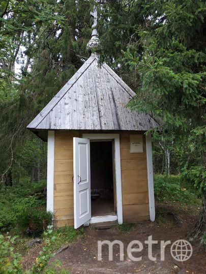 """Самая маленькая часовня, Ботанический сад. Фото Наталья Сидоровская, """"Metro"""""""