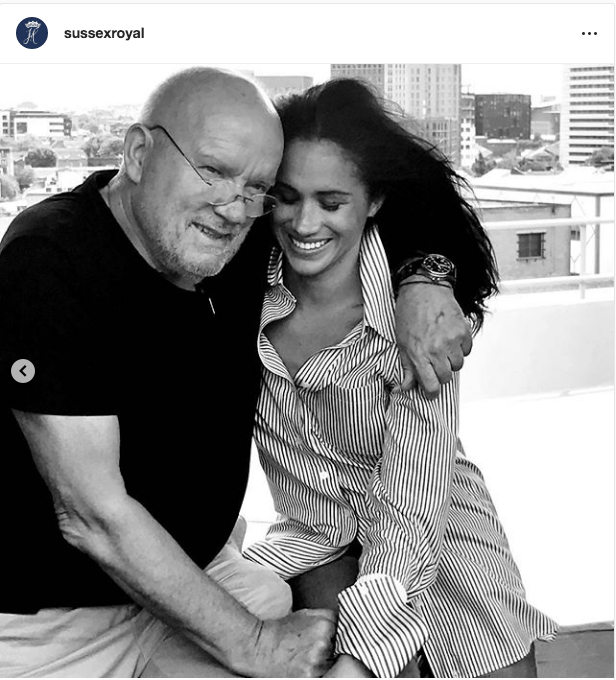 "Это фото появилось в Instagram герцогов Сассекских. Фото https://www.instagram.com/sussexroyal/, ""Metro"""