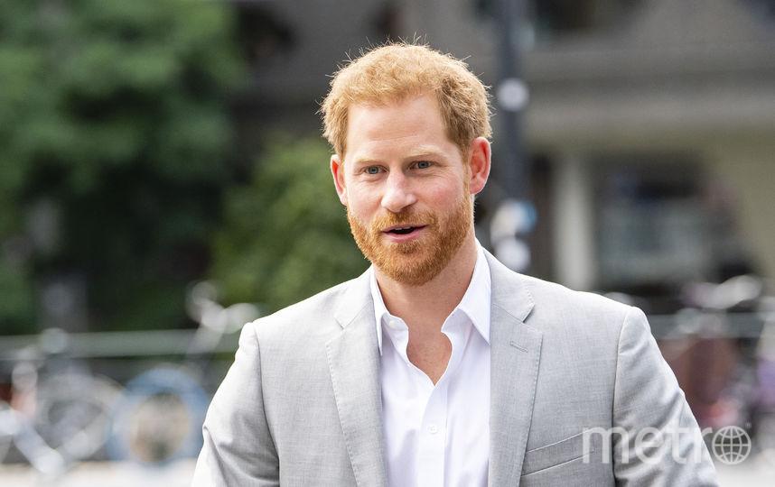 Принц Гарри в Амстердаме. Фото AFP