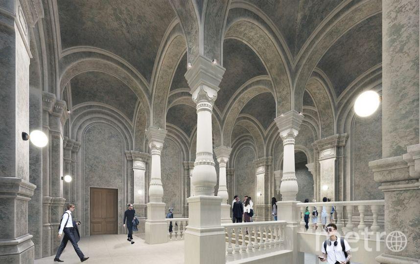 Проект. Фото бюро Wowhaus, предоставлено пресс-службой Москомархитектуры